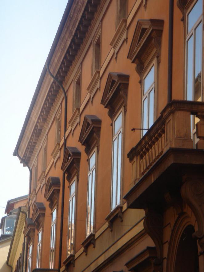 Esterno Palazzo Tubertini