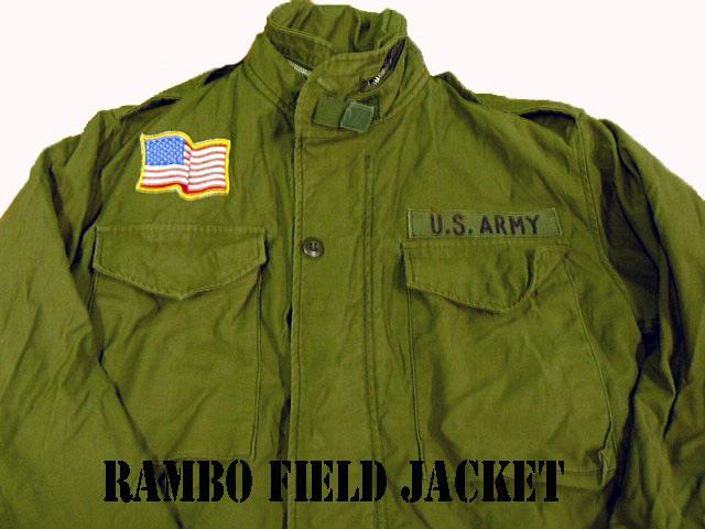 m-65 rambo jacket copia